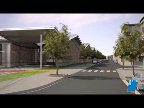 Nouveau dépôt de tram STIB Marconi