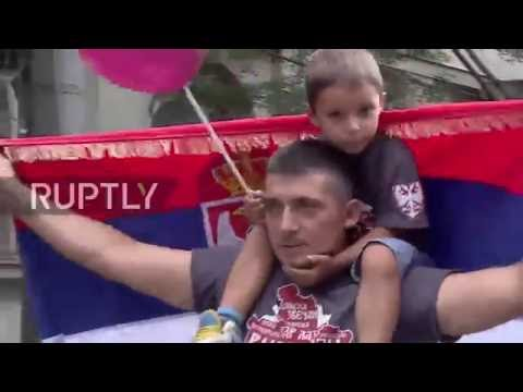 Serbia: Children 'lead' anti-homosexuality march in Belgrade
