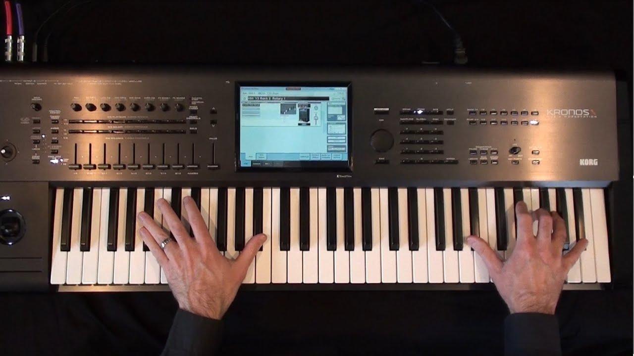 K-Sounds Organimation - Tonewheel Organ Library for Kronos