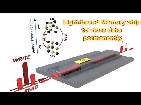 World's First Light-based Memory Chip to store data permanently