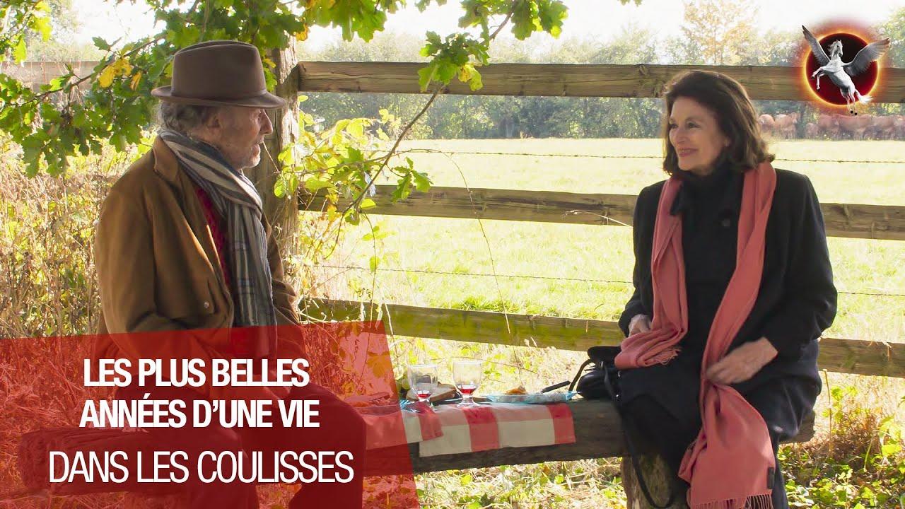 LES PLUS BELLES ANNÉES D'UNE VIE - DANS LES COULISSES - (ANOUK AIMÉE - JEAN-LOUIS TRINTIGNANT)