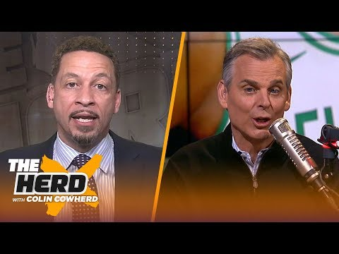 Chris Broussard has no problem if Zion sits, thinks KD leaving Warriors is a possibility | THE HERD