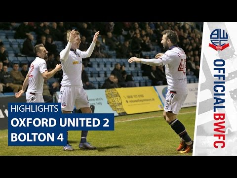 HIGHLIGHTS | Oxford United 2-4 Bolton