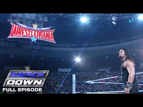 WWE SmackDown Full Episode, 17 March 2016