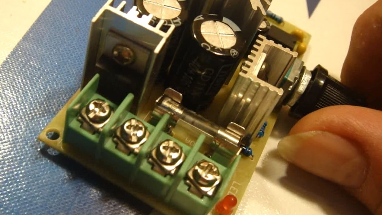 Schema Elettrico Regolatore Velocità Vortice : Pwm da regolatore di velocità motori sia volt che