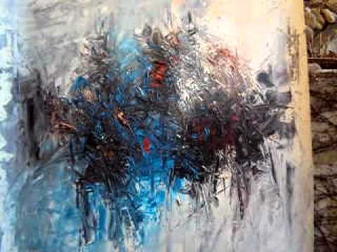Henri Kalama Akulez Painting in the cold March 2011 part II.AVI
