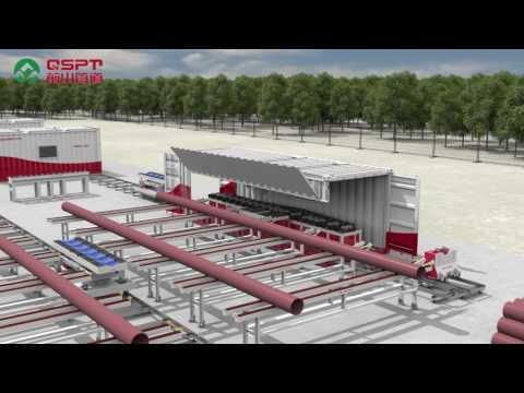 Pipe Prefabrication production line