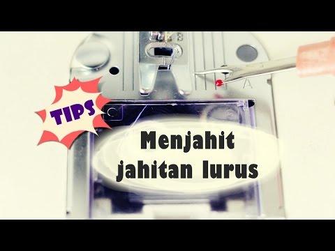Tips: Menjahit Jahitan Lurus