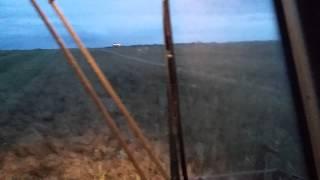 Будни тракториста 19ч. уборка рапса в ночную не простое дело, трактор Фергюсонит 7766 дюна 6