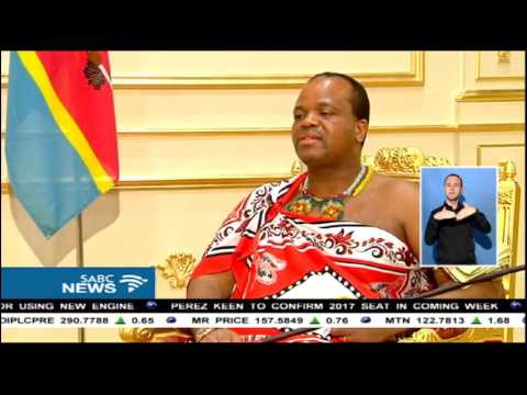 Swaziland and South Africa have good relations: King Mswati