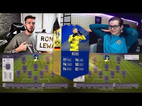 Fifa 18: TOTS REUS Squad Builder Battle 😱👑