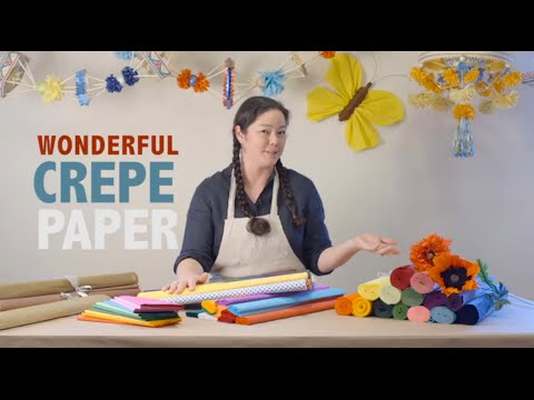 Wonderful Crepe Paper