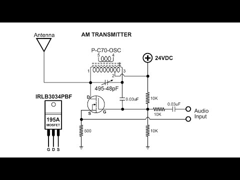 AM Transmitter Solid State, build and demo