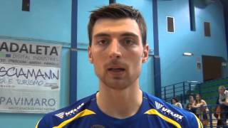 08-11-2015: Simone Anzani post Molfetta-Verona
