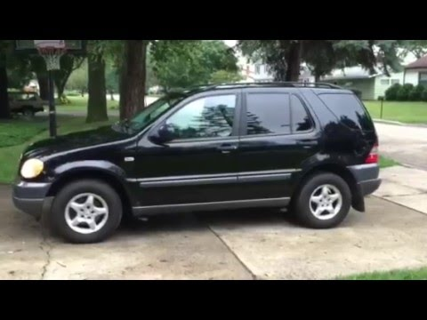 1999 Mercedes Benz ML320 Full Walk Around YouTube