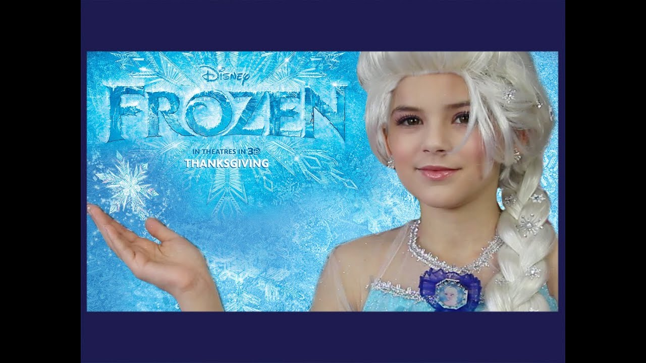Disney Frozen Elsa Makeup Tutorial Kittiesmama