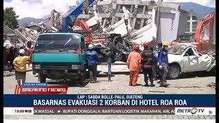 Ada SMS Minta Tolong Dari Korban Dibawah Reruntuhan Kamar 317 Hotel Roa Roa Palu