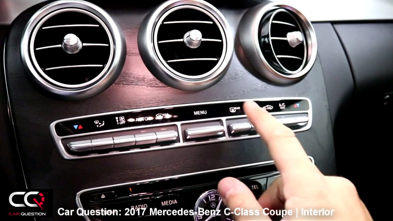 2017 mercedes benz c class coupe interior review the most complete review part 2 7 youtube - Mercedes benz c class coupe interior ...