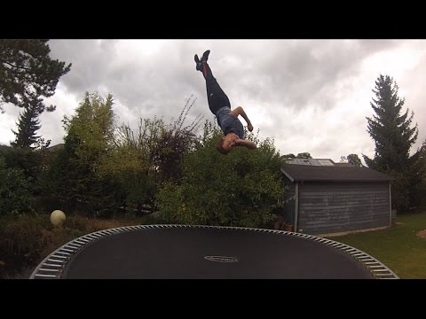 360 Backflip - Rückwärtssalto mit ganzer Drehung