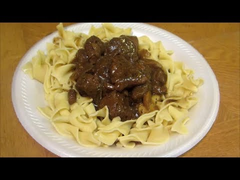 Easy Beef And Noodles