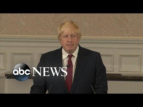 Brexit Campaigner Boris Johnson Won't Run for PM