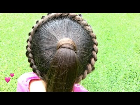 Thumbnail: Circle Laced Braid with Pony Tail