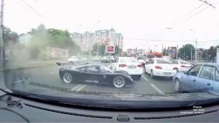 ДТП со спорткаром Ultima GTR Краснодар(, 2016-07-25T11:54:49.000Z)