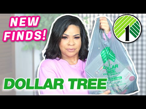 DOLLAR TREE HAUL! What's NEW At Our Favorite DOLLAR STORE?!