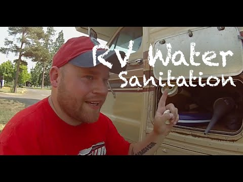 How To Sanitize RV Freshwater Tank