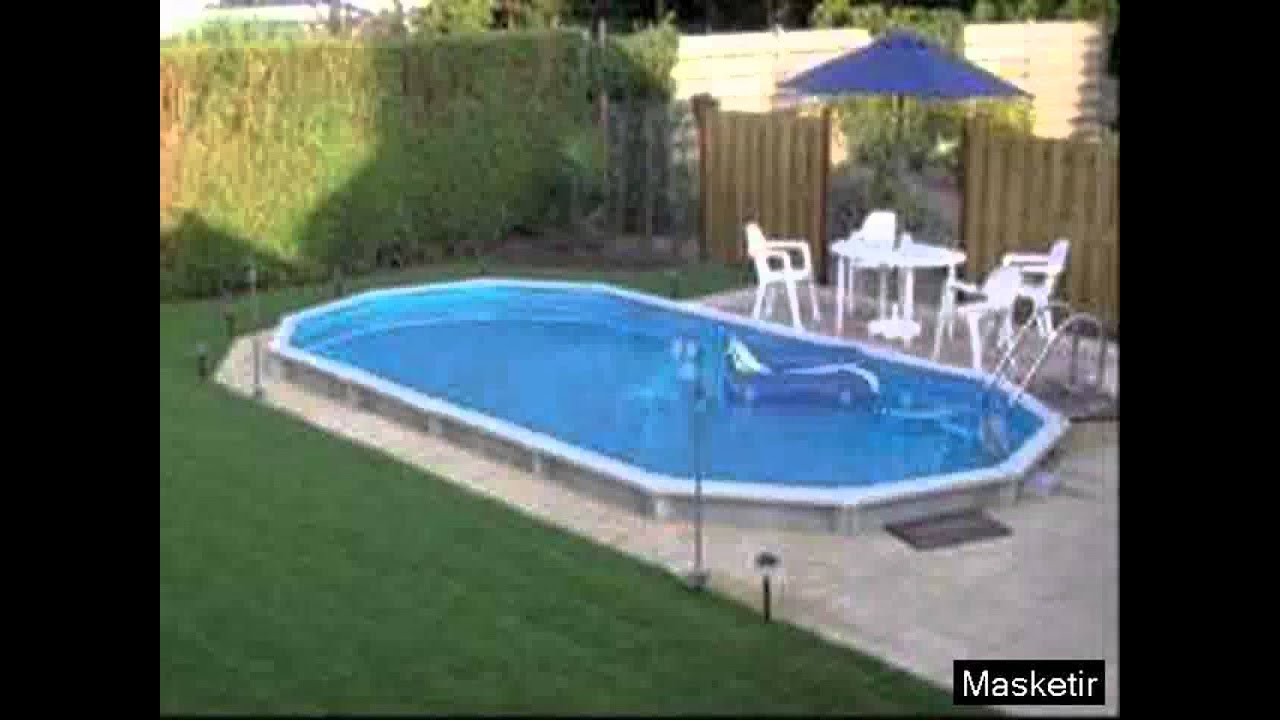 Above ground pool deck ideas youtube for Above ground pool decks nj