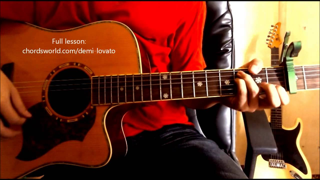 In case chords demi lovato chordsworld guitar tutorial youtube in case chords demi lovato chordsworld guitar tutorial hexwebz Images