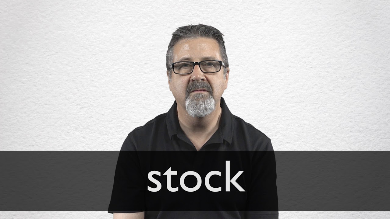 """French Translation of """"stock"""" 