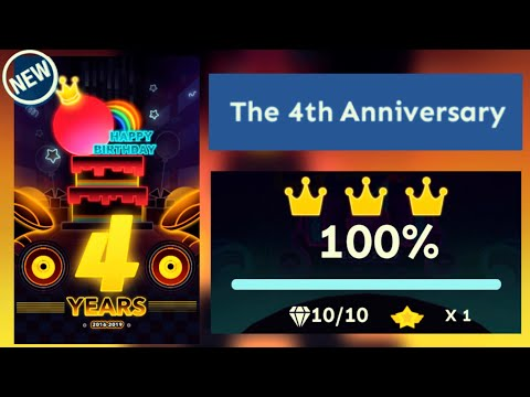 Rolling Sky - The 4th Anniversary Level 44 [OFFICIAL]