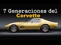 LAS 7 GENERACIONES DEL CHEVROLET CORVETTE