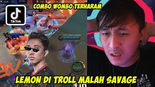 COMBO WOMBO TERHARAM DI MOBILE LEGEND! REACTION TIKTOK MOBILE LEGEND LAGI BOS!