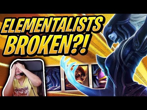 ELEMENTALISTS NEED A NERF!   Teamfight Tactics   TFT   League of Legends Auto Chess