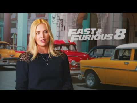 Thumbnail: Jason Statham​ and Charlize Theron​ talk fighting, crushes and more for Fast & Furious 8