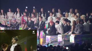 Idol  reaction to BTS - Airplane Part.2@ MMA 2018 #MMA2018