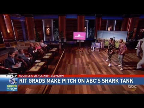 RIT on TV: Alumni Pitch Business on 'Shark Tank'
