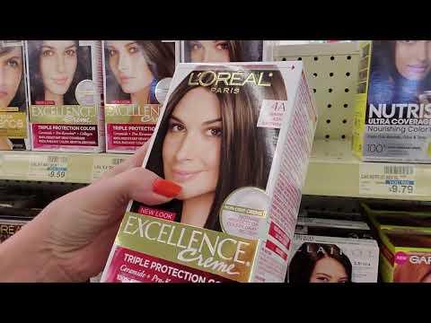 😍 CVS Hair Dye & Cosmetics Shelf Organization 😍