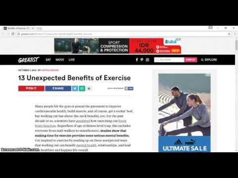 Healthy Lifestyle  13 Unexpected Benefits of Exercise