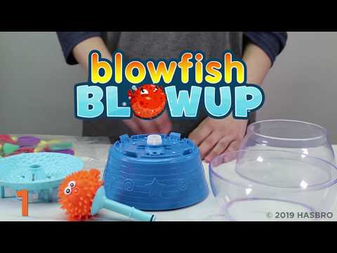 Blowfish Blowup Game- Smyths Toys