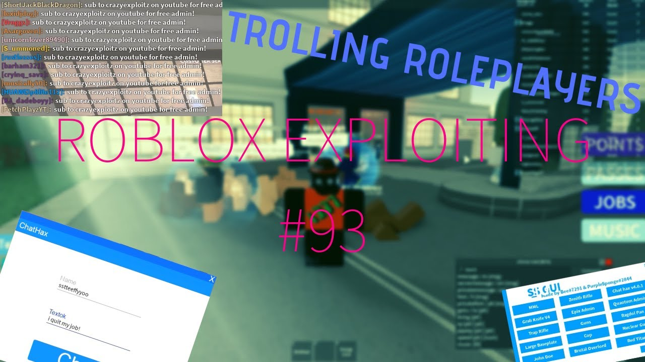 Roblox Exploiting 93 Trolling Roleplayers On Roblox - the brutal overlord roblox