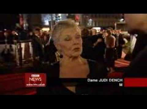 Casino Royale World Premiere - BBC