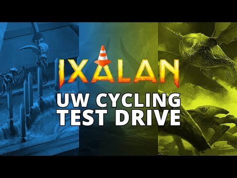 UW Cycling Ixalan Standard Test Drive MTGO Stream