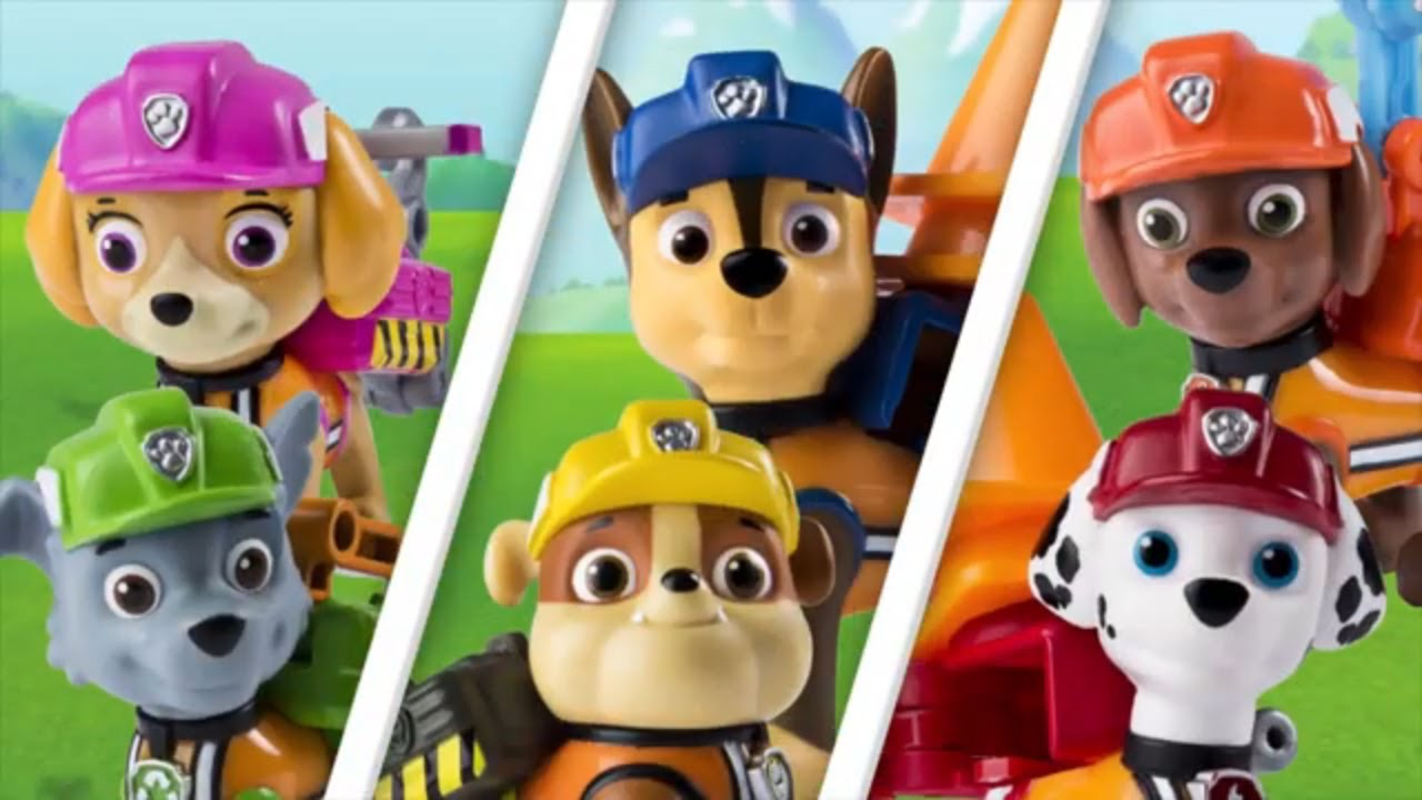 PAW Patrol Rubble and the Pups Saves Chickaletta