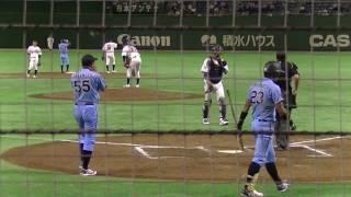 20170717 第88回都市対抗野球大会 NTT西日本対JR西日本 9回表