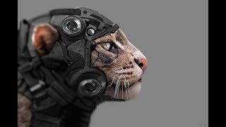 Crazy Robot Cat.Кошка Робот.