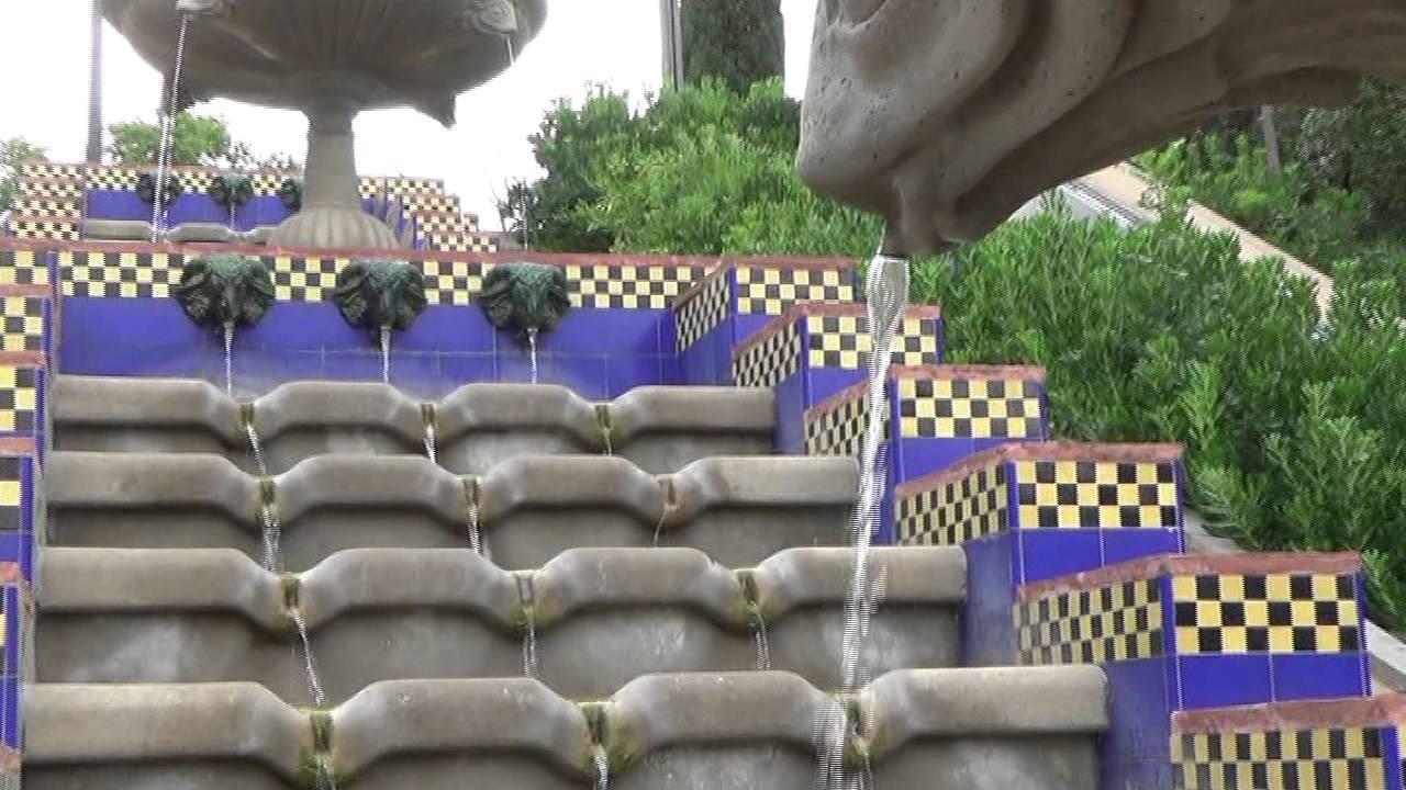 Fuentes Y Cascadas Ornamentales De Barcelona 3 Youtube