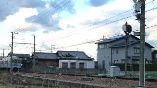 水間鉄道 デハ1004+デハ1003 『鉄の女』HM付き 水間線 森駅~三ツ松駅にて 2017/12/09